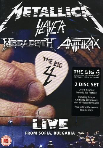 Metallica-Slayer-Anthrax-Megadeth - Big Four: Live From Sophia Bulgaria [Import]