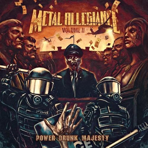 Metal Allegiance - Volume II: Power Drunk Majesty [Orange w/ Black Splatter LP]