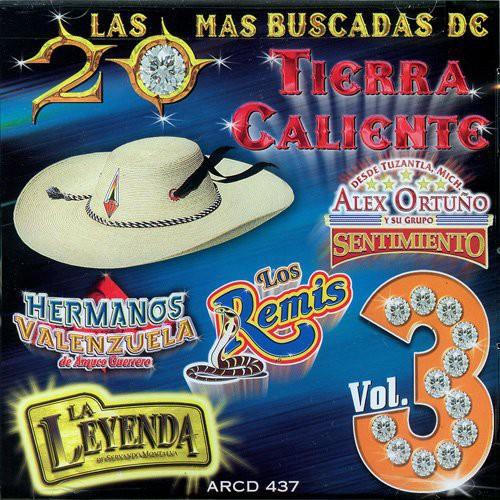 20 Mas Buscadas De Tierra Caliente, Vol. 3