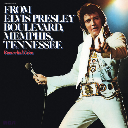 From Elvis Presley Boulevard Memphis Tennessee (Translucent Gold) LP