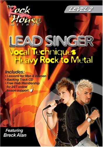 Lead Singer Vocal Techniques: Hard Rock to Metal Level: Volume 2
