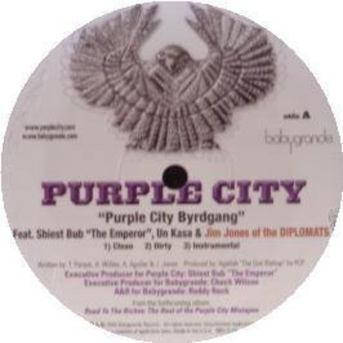 Purple City Byrdgang /  It Ain't Easy