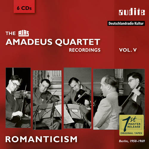 Romanticism: The RIAS Amadeus Quartet Recordings, Vol. 5