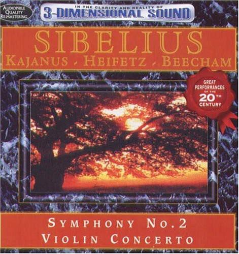 Sibelius: Symphony No 2 & Violin Concerto /  Various
