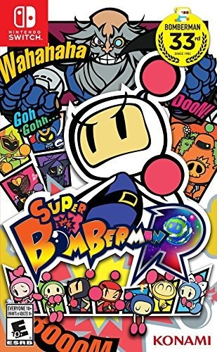 Swi Super Bomberman R - Super Bomberman R