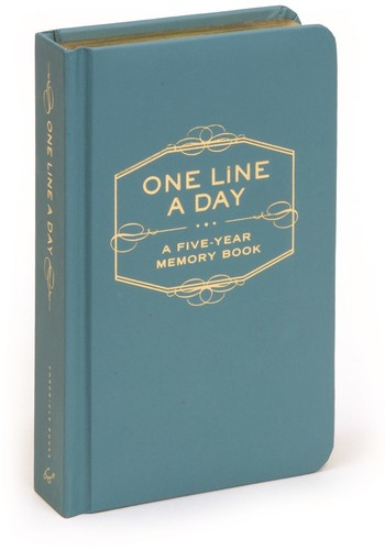 Chronicle Books - One Line a Day: A Five-Year Memory Book