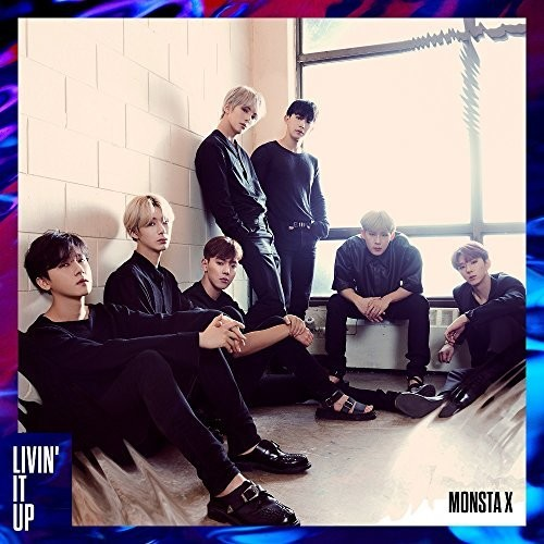 Monsta X - Livin It Up (B Version) [Import]
