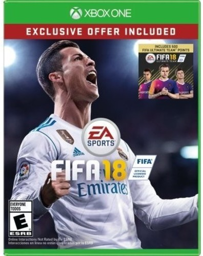 Xb1 FIFA 18 - Includes 500 Ultimate Team Points - FIFA 18 - Includes 500 Ultimate Team Points