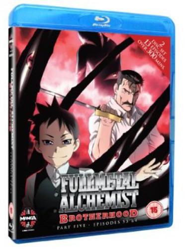 Fullmetal Alchemist Brotherhood Five