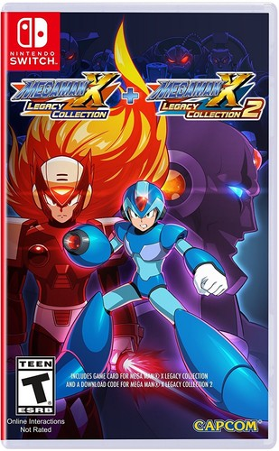 Swi Mega Man X: Legacy Collection 1 + 2 - Mega Man X: Legacy Collection 1 + 2 for Nintendo Switch