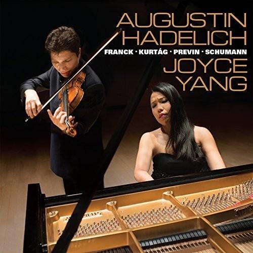 WORKS FOR VIOLIN & PIANO BY FRANCK KURTAG PREVIN