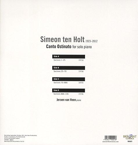 Ten Holt: Canto Ostinato for Solo Piano
