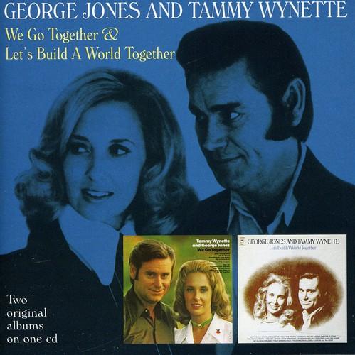 George Jones & Tammy Wynette - We Go Together/Let's Build A World Together [Import]