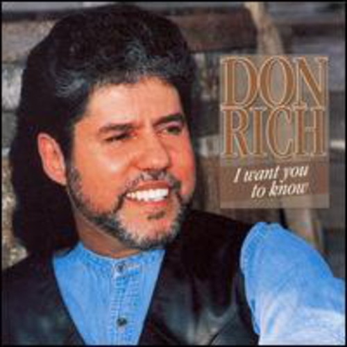 Don Rich - I Want You To Know