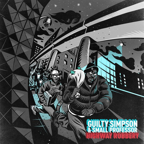 Guilty Simpson / Small Professor - Highway Robbery (Blk) [Download Included]