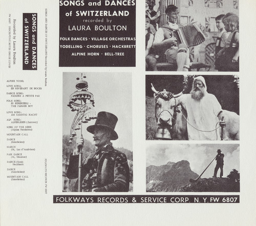 Songs & Dances Of Switzerland - Songs & Dances Of Switzerland