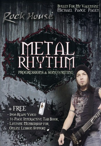 Michael Paget of Bullet for My Valentine: Metal Rhythm