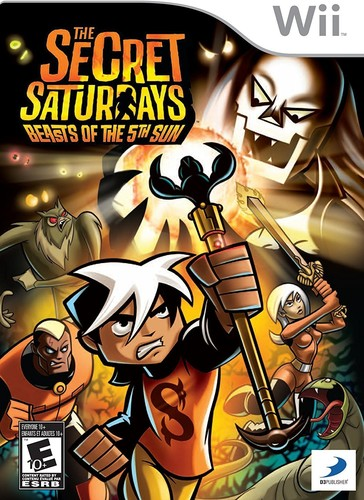 Secret Saturdays: Beast of the 5th Sun for Nintendo Wii