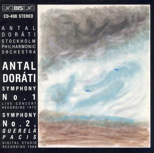 """Symphonies 1 & 2 """"Querela Pacis"""""""