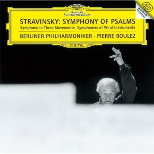 Stravinsky / Pierre Boulez - Stravinsky: Symphony Of Psalms (Jpn) [Limited Edition] (Shm)