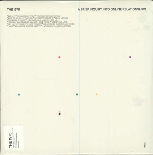 The 1975 - A Brief Inquiry Into Online Relationships [Indie Exclusive Limited Edition White 2LP]