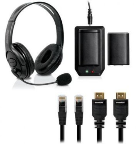 - DreamGear 6 In 1 Starter Kit for Xbox 360