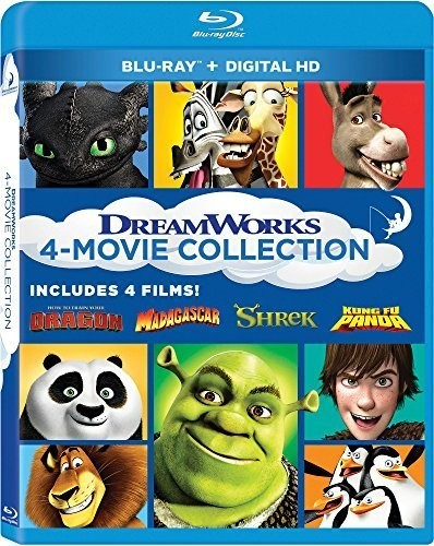 Dreamworks 4-Movie Collection