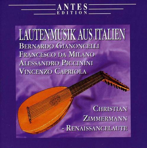 Lautenmusik Aus Italien