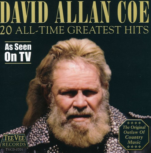 David Allan Coe-20 All-Time Greatest Hits