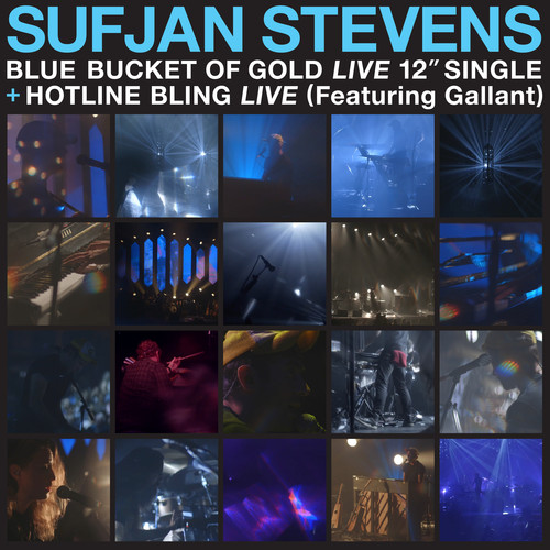 Sufjan Stevens - Carrie & Lowell Live [Translucent Blue Vinyl Single]
