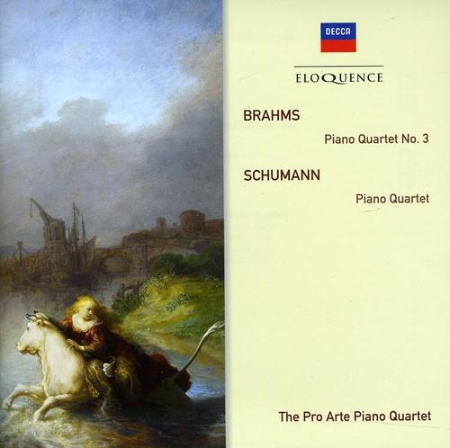 Eloquence: Brahms - Piano Quartet No 3 /  Schumann