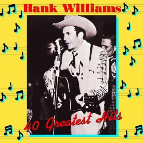 Henk Williams - Hank Williams 40 Greatest Hits [Import 2LP]