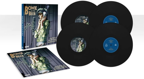 David Bowie - Bowie At The Beeb: The Best Of The BBC Radio Sessions '68-'72 [Limited Edition 4LP 180 Gram Vinyl Box Set]