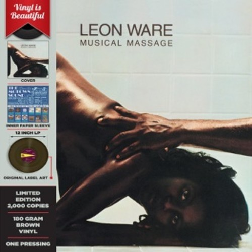 Leon Ware - Musical Massage [Limited Edition Brown Vinyl]