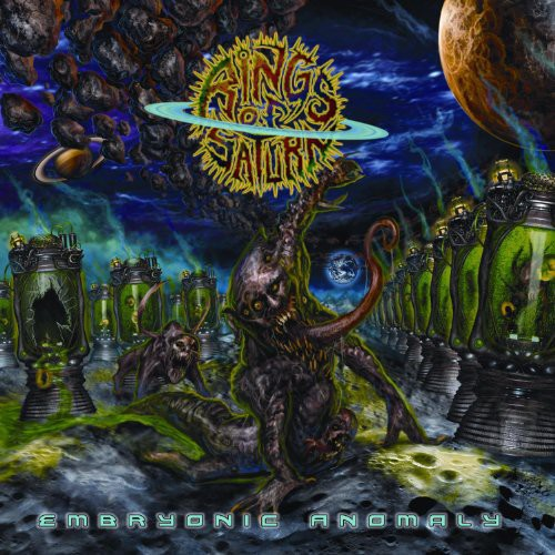Rings Of Saturn - Embryonic Anomaly [LP]