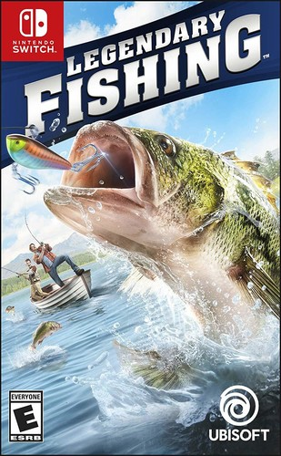 - Legendary Fishing for Nintendo Switch
