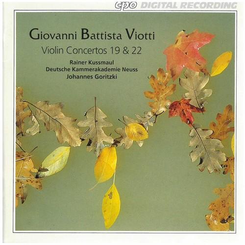 Violin Concertos 19