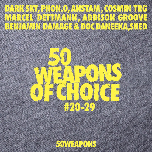 50 Weapons Of Choice 20-29