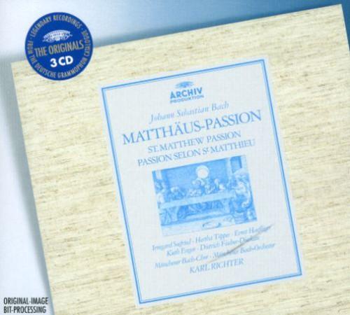Bach J.S: St Matthew Passion
