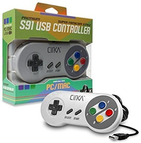 - CirKa S91 Premium Super Famicom USB Controller for PC