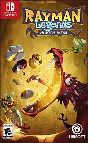 - Rayman Legends - Difinitive Edition for Nintendo Switch