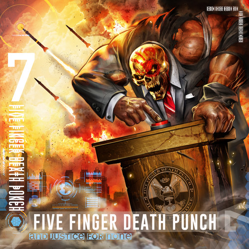 Five Finger Death Punch - And Justice For None [Clean]