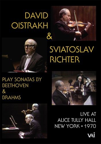 David Oistrakh & Sviatoslav Richter Play Sonatas by Beethoven & Brahms
