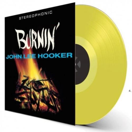 John Lee Hooker - Burnin [Colored Vinyl] [180 Gram] (Ylw) (Spa)