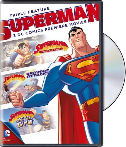 DC Comics Superman Triple Feature