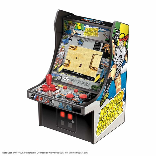 - My Arcade Heavy Barrel Micro Player