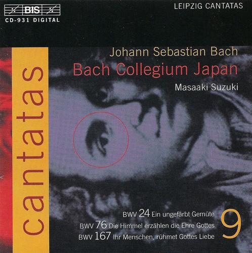 Cantatas Ix: BWV.24, BWV.76, BWV.167
