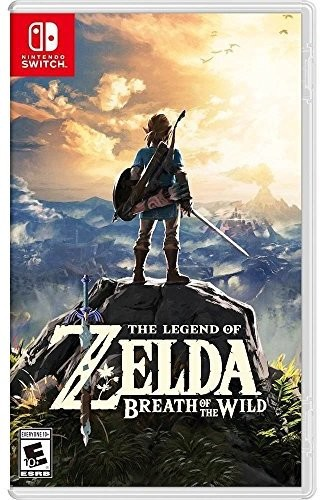 Swi the Legend of Zelda: Breath of the Wild - Legend Of Zelda: Breath Of The Wild