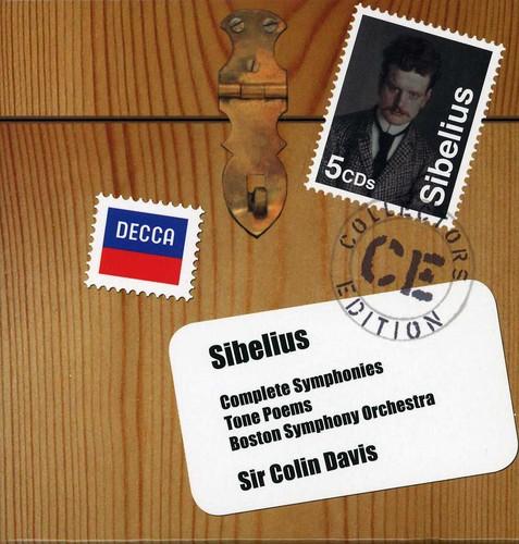 Coll Ed: Sibelius Complete Symphonies Tone Poems