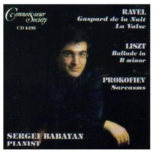 Ravel/ Prokofiev, Liszt : Piano Works